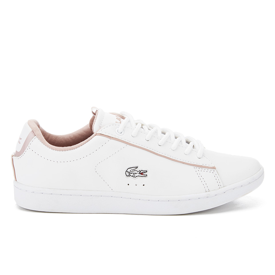 b265abf5f Lacoste Women s Carnaby Evo Court Trainers - White White - Free UK ...