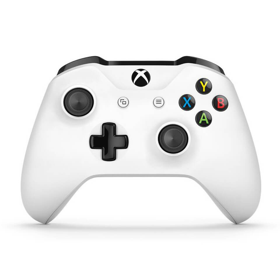Microsoft Xbox Bluetooth Controller for Xbox One S/Xbox One and PC - White