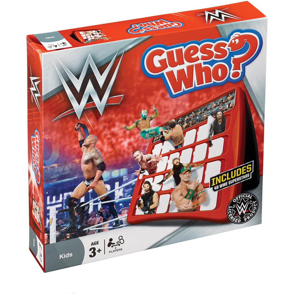 Guess Who - WWE Edition | IWOOT