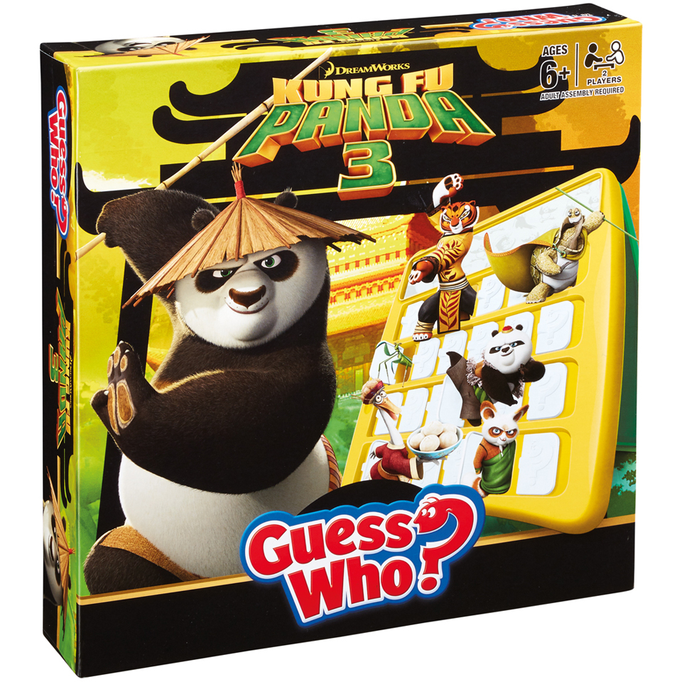Guess Who - Kung Fu Panda 3 Edition