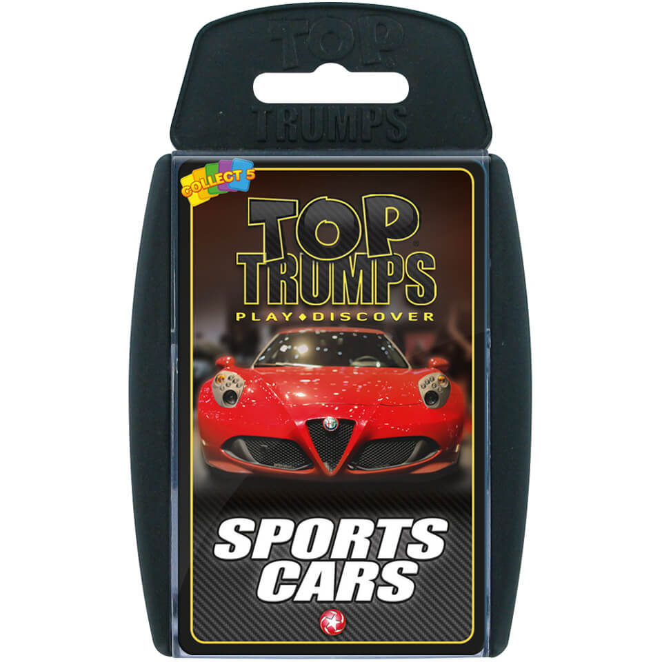 Classic Top Trumps - Sports Cars