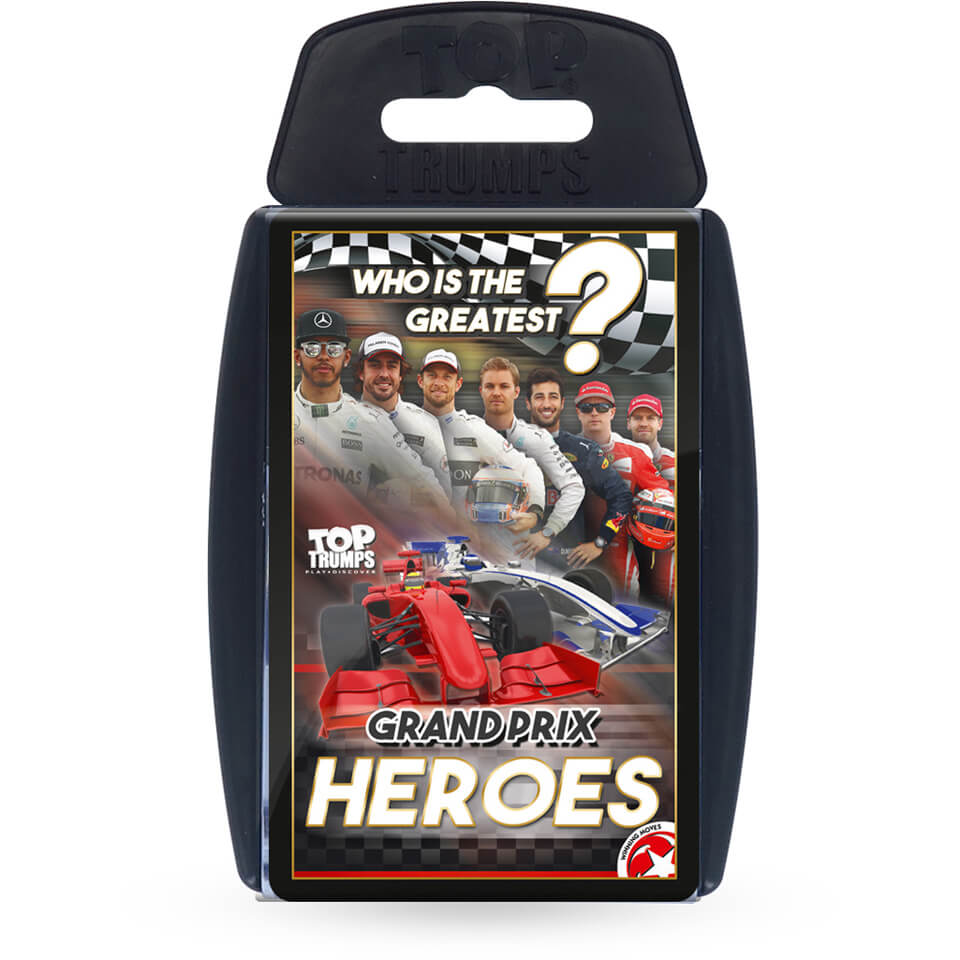 Grand Prix Heroes Top Trumps Card Game