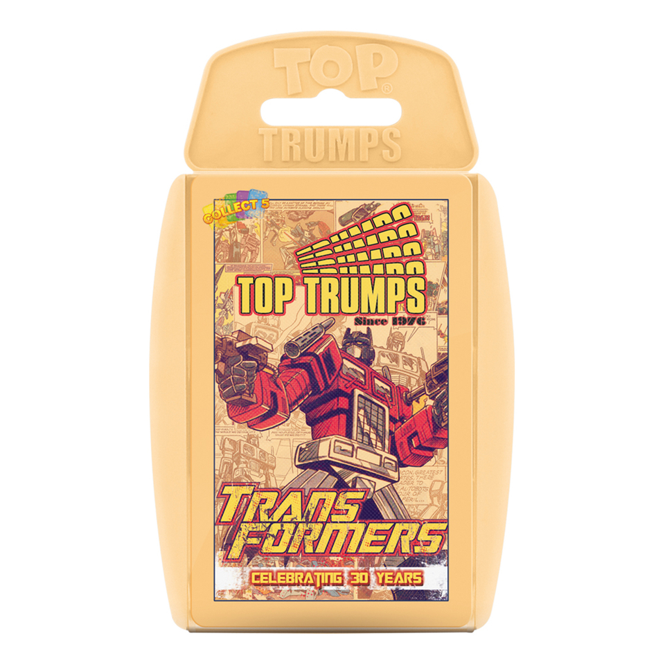 Top Trumps Specials - Transformers - Celebrating 30 years