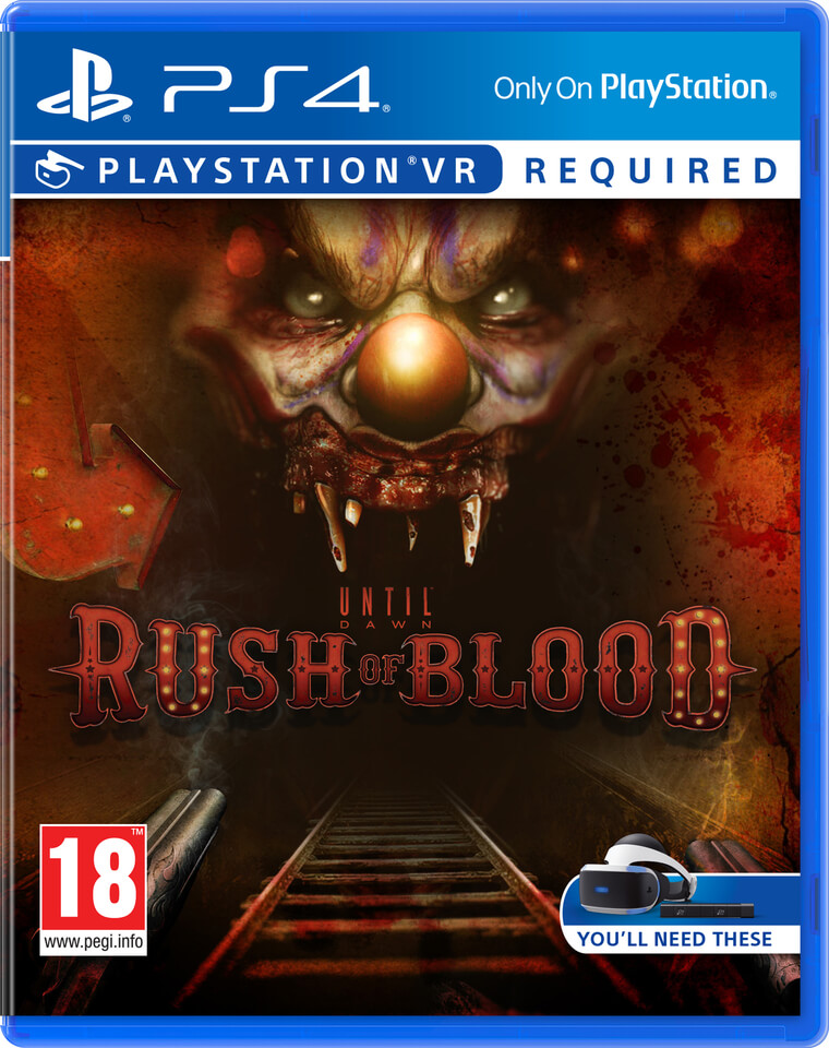 Until Dawn: Rush of Blood - PSVR