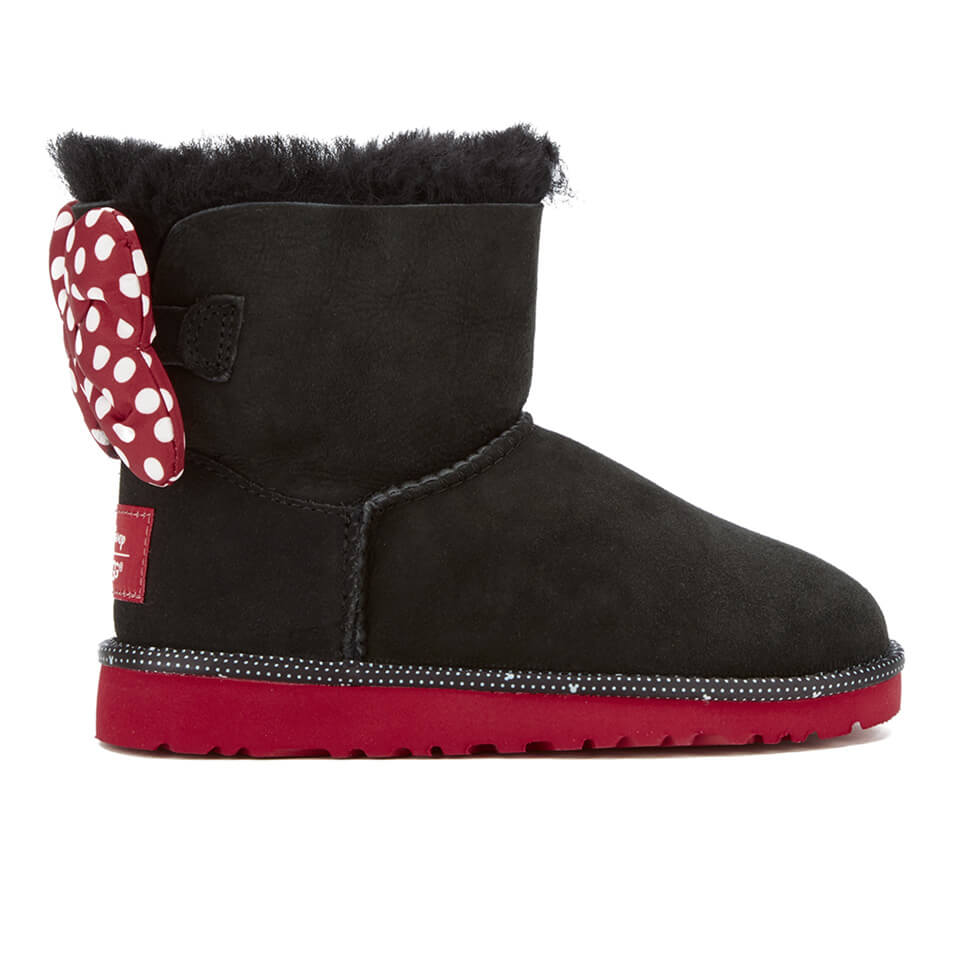 00312a4ab6b UGG Kids' Sweetie Bow Disney Boots - Black