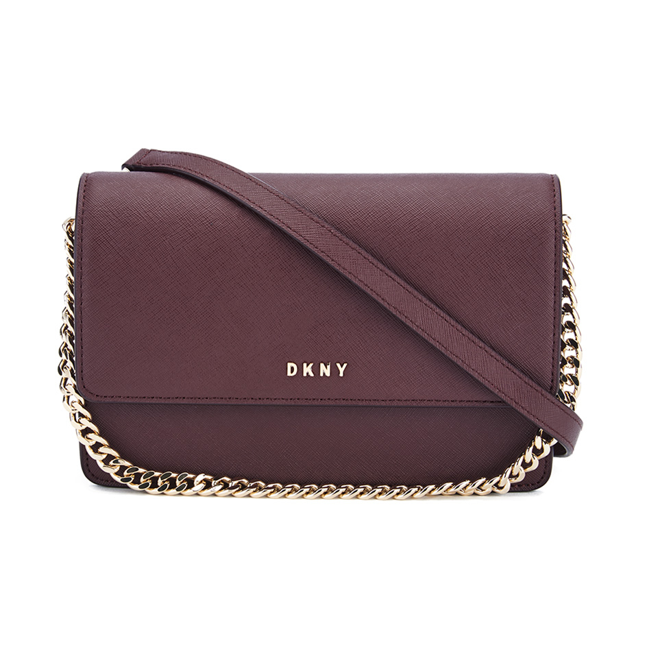 7fefb093e2d03 DKNY Women s Bryant Park Small Flap Crossbody Bag - Oxblood - Free UK  Delivery over £50