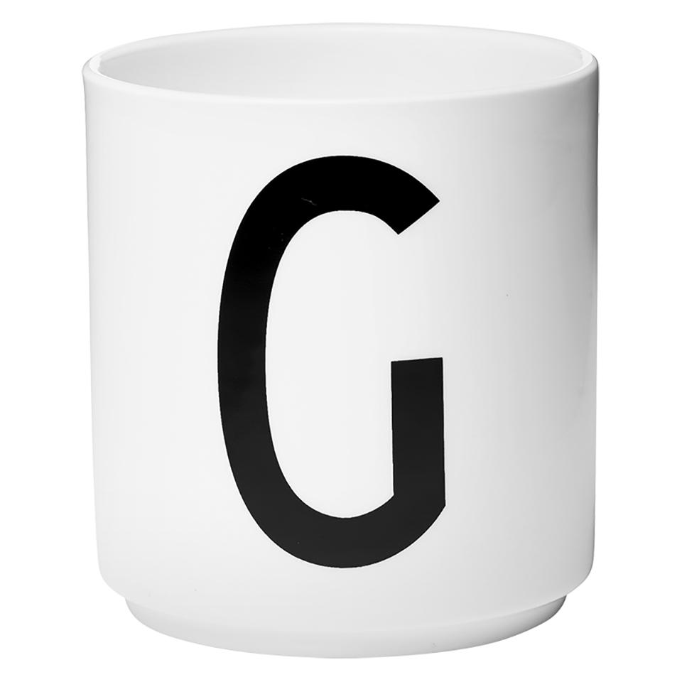 Design letters porcelain cup g sowia for Kuchenzubehor design