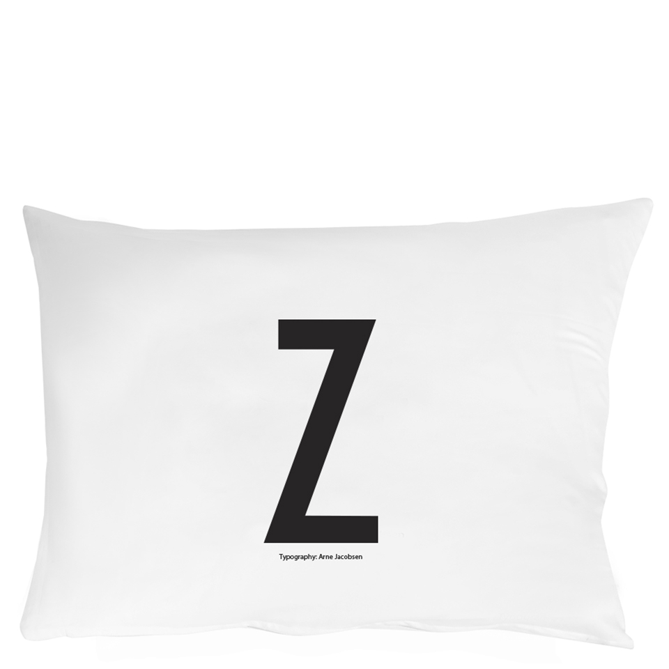 Design Letters Pillowcase - 70x50 cm - Z