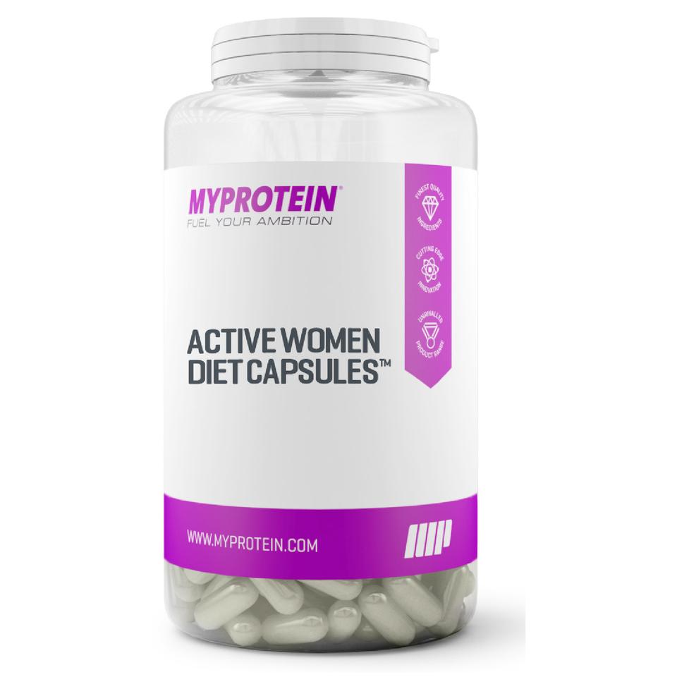 Active Women Diet Capsules Slimming Vitamins Myprotein