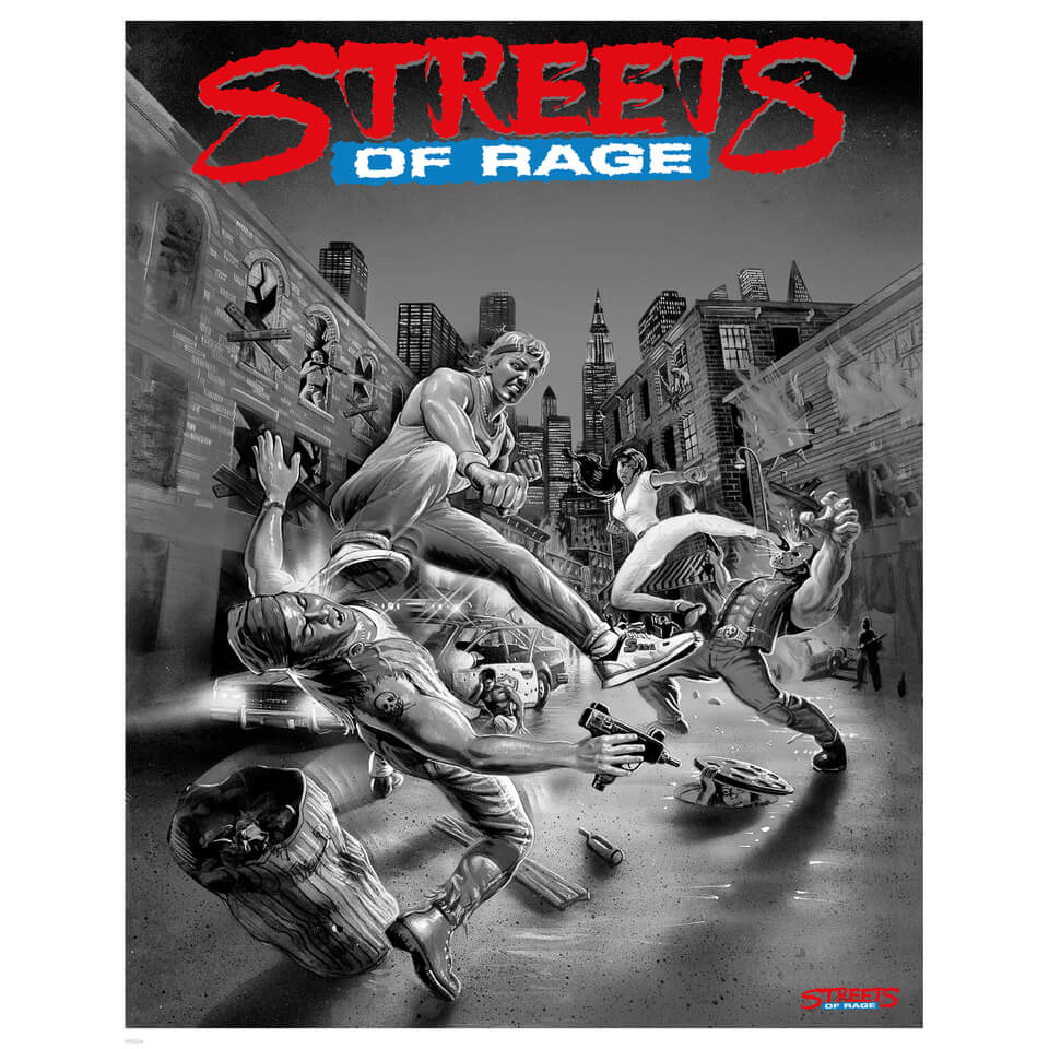Streets of Rage Variant Limited Edition Giclee Art Print - Timed Sale