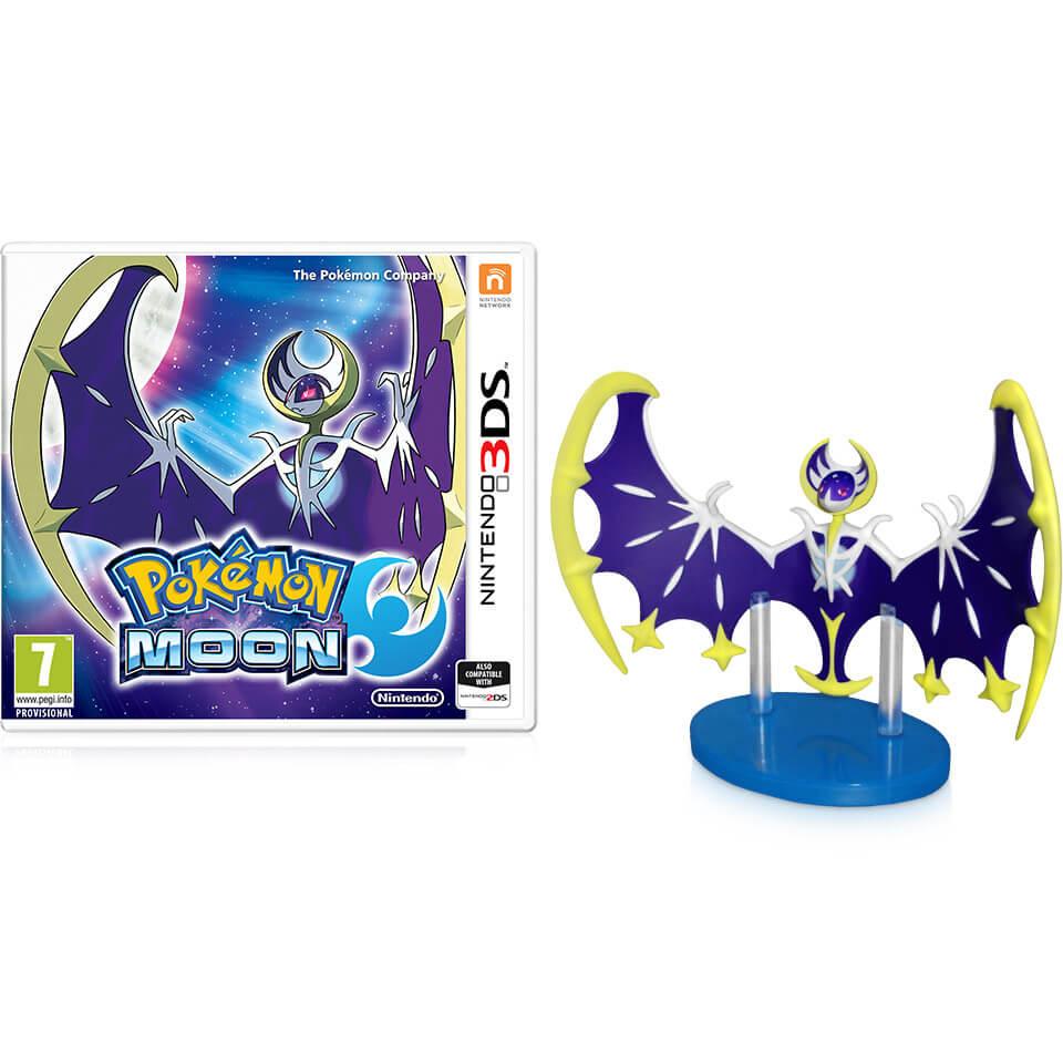 Pokmon Moon Lunala Figurine Nintendo Official Uk Store Pokemon 3ds