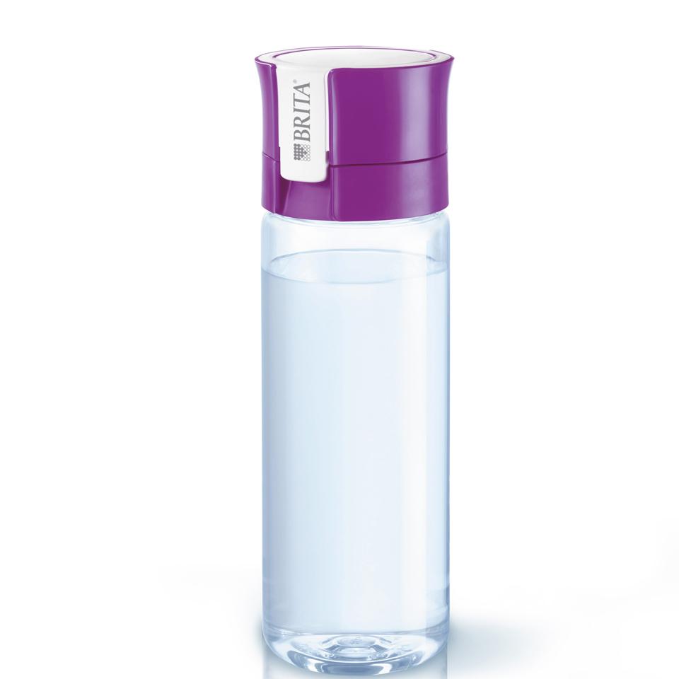 Brita Fill Amp Go Vital Water Bottle Purple 0 6l