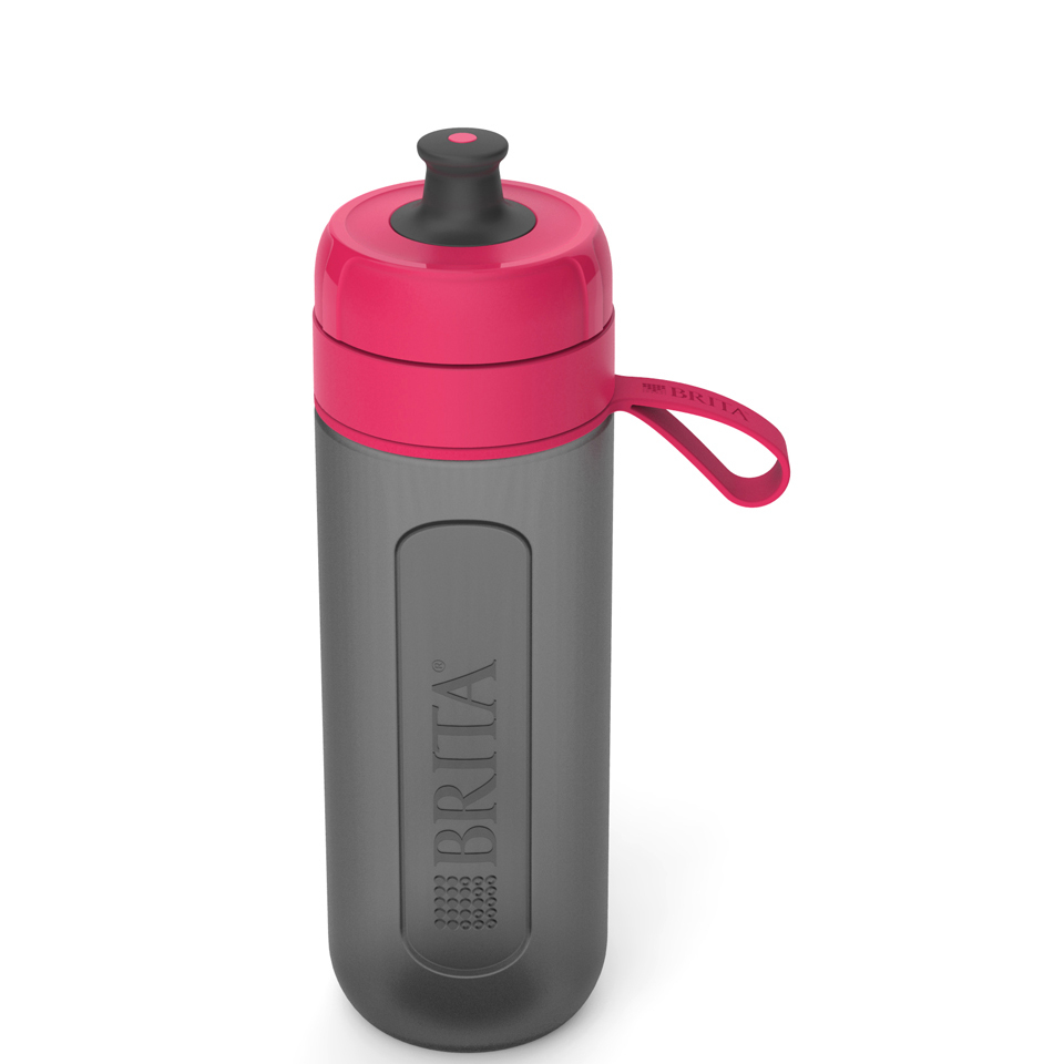 BRITA Fill & Go Active Water Bottle - Pink (0.6L)