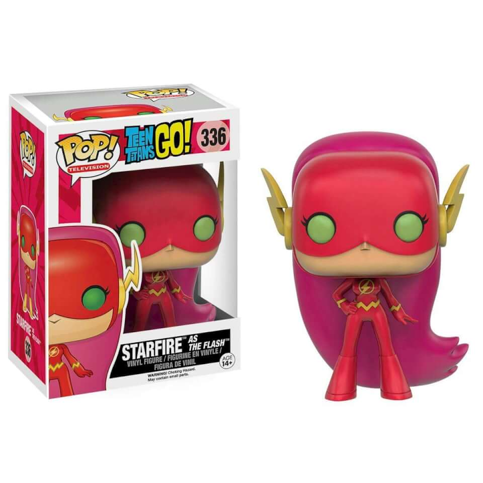Teen Titans Go! Starfire as The Flash Limited Edition Pop! Vinyl Figure