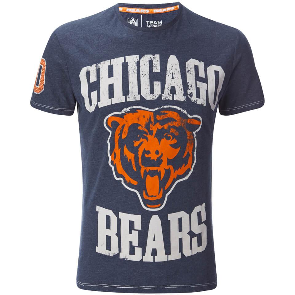 NFL Mens Chicago Bears Logo TShirt  Navy  Pop In A Box UK