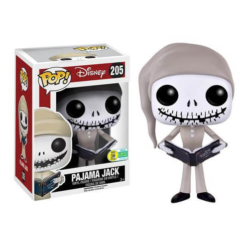 Nightmare Before Christmas Pajama Jack Skellington Pop! Vinyl ...