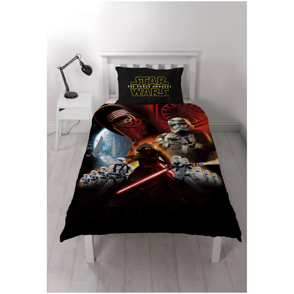 Star Wars The Force Awakens Episode Vii Panel Duvet Set
