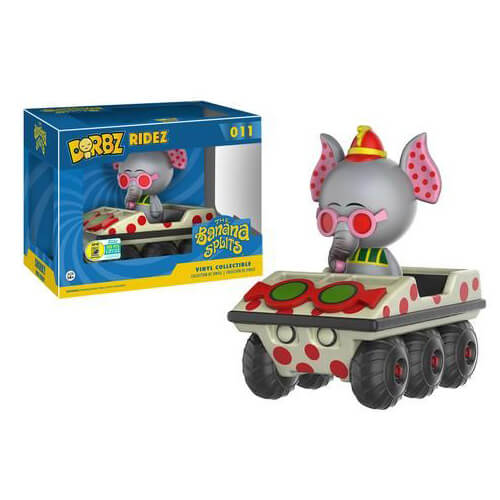 Banana Splits Snorky Dorbz Ride & Dorbz Vinyl Figure SDCC 2016 Exclusive