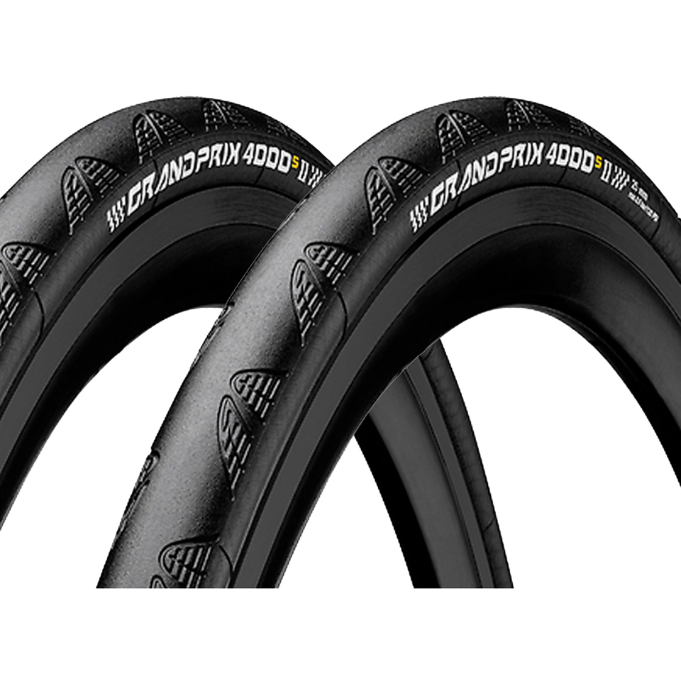 Continental Bicycle Tires >> Continental Grand Prix 4000s Ii Clincher Tire Twin Pack