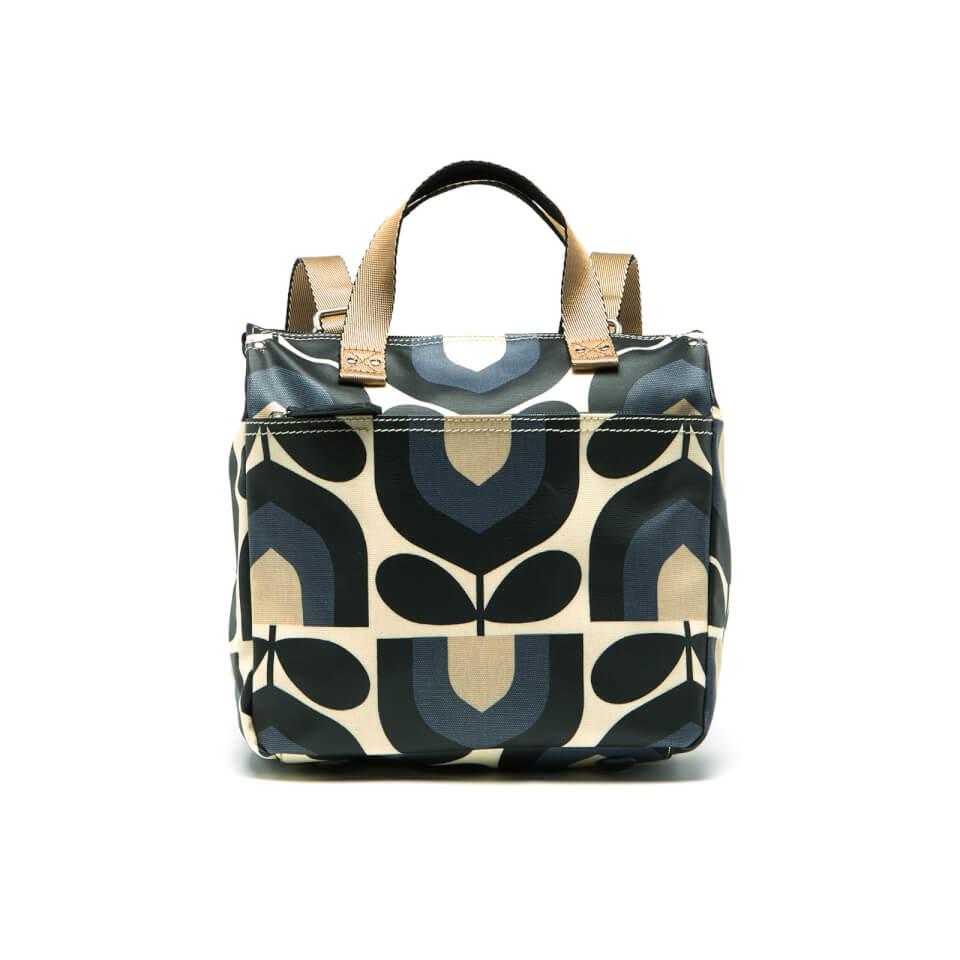 Orla Kiely Women\'s Matt Laminated Stripe Tulip Print Small Backpack ...