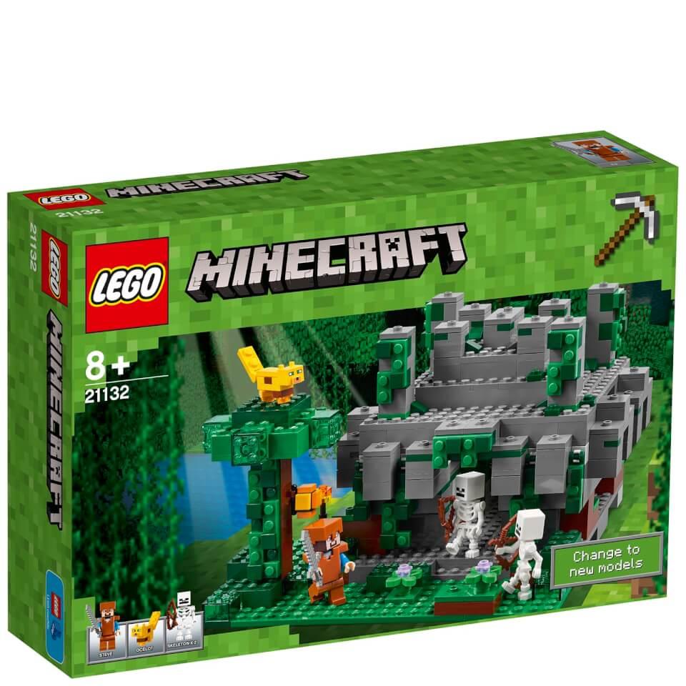 LEGO Minecraft: The Jungle Temple (21132) Toys | Zavvi