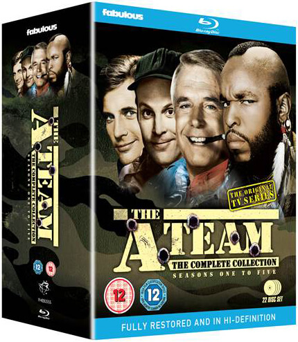 The A Team Complete Series Blu Ray Zavvi Com