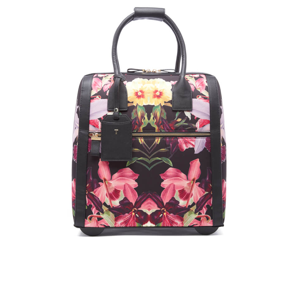 9e5244a7b Ted Baker Women s Donnie Lost Gardens Travel Bag - Black