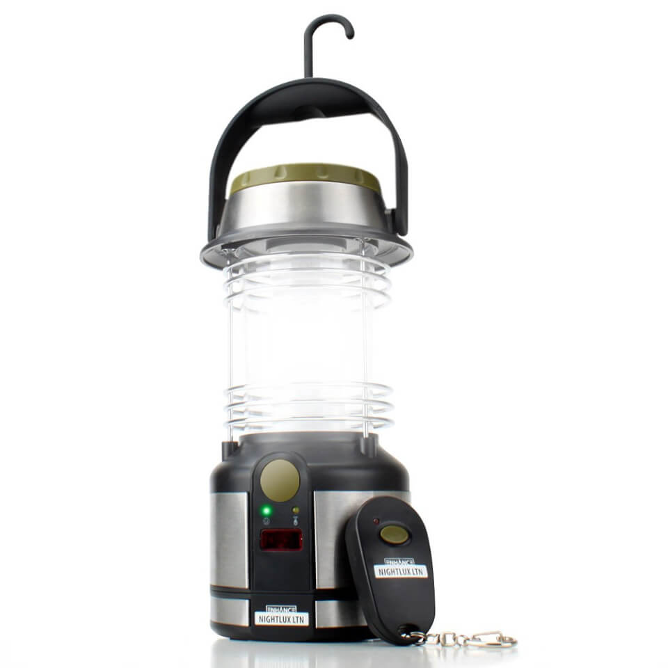 Enhance Nightlux Battery Operated Lantern With Remote