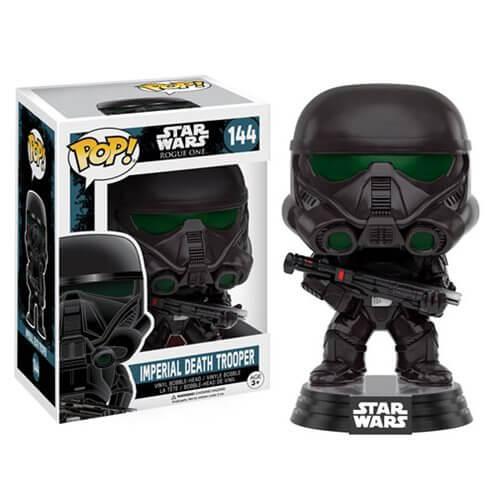 star wars rogue one imperial death trooper pop vinyl bobble head merchandise
