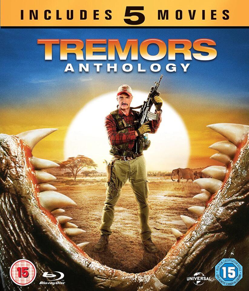 Tremors 4 12: Tremors Anthology (Tremors 1-5) Blu-ray