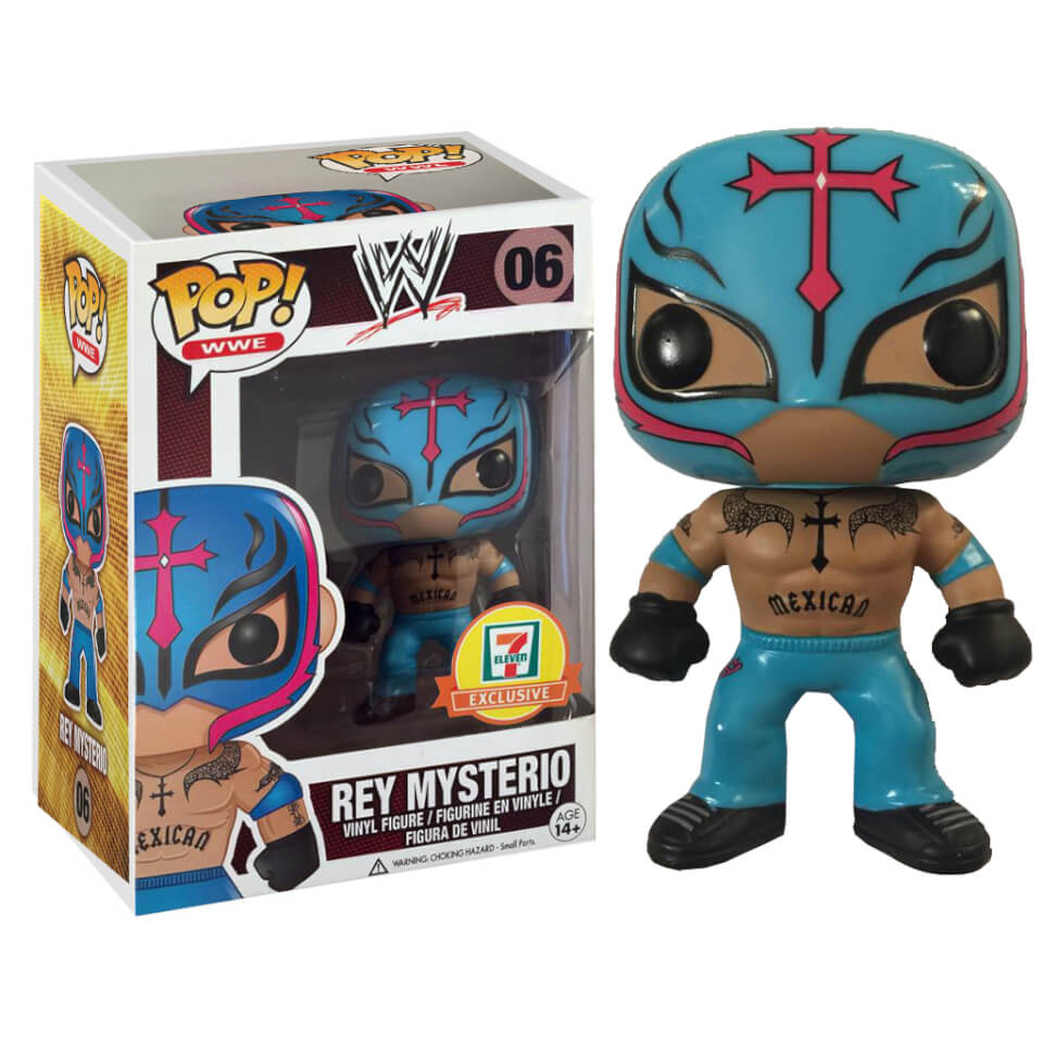 Funko Rey Mysterio 7 11 Exclusive Pop Vinyl Pop In A