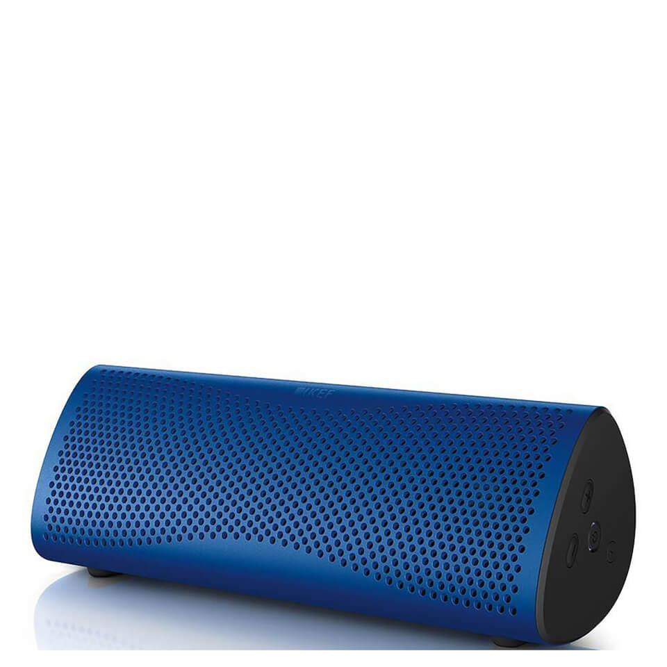 KEF MUO Bluetooth Speaker - Blue | IWOOT