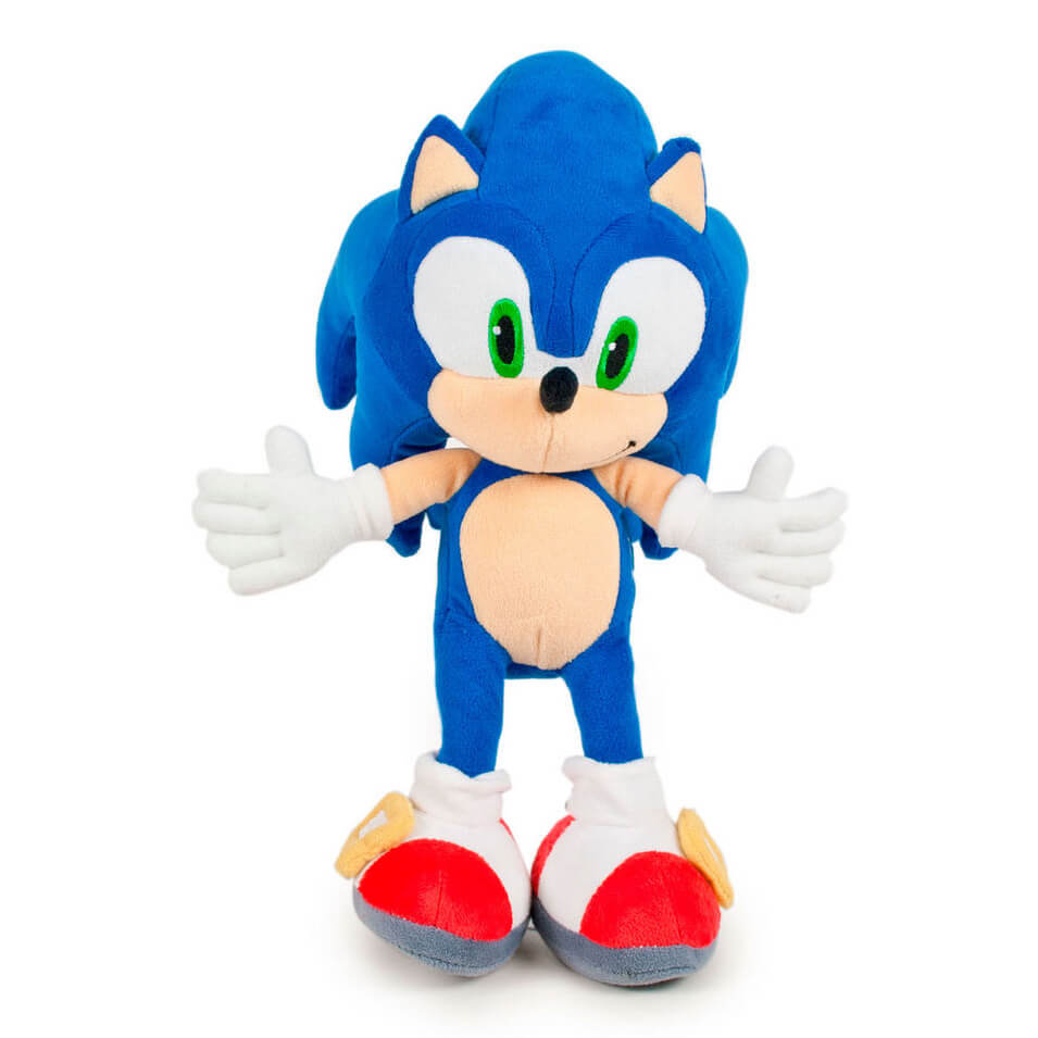 Sonic The Hedgehog Plush Figure Sonic Pop In A Box Us