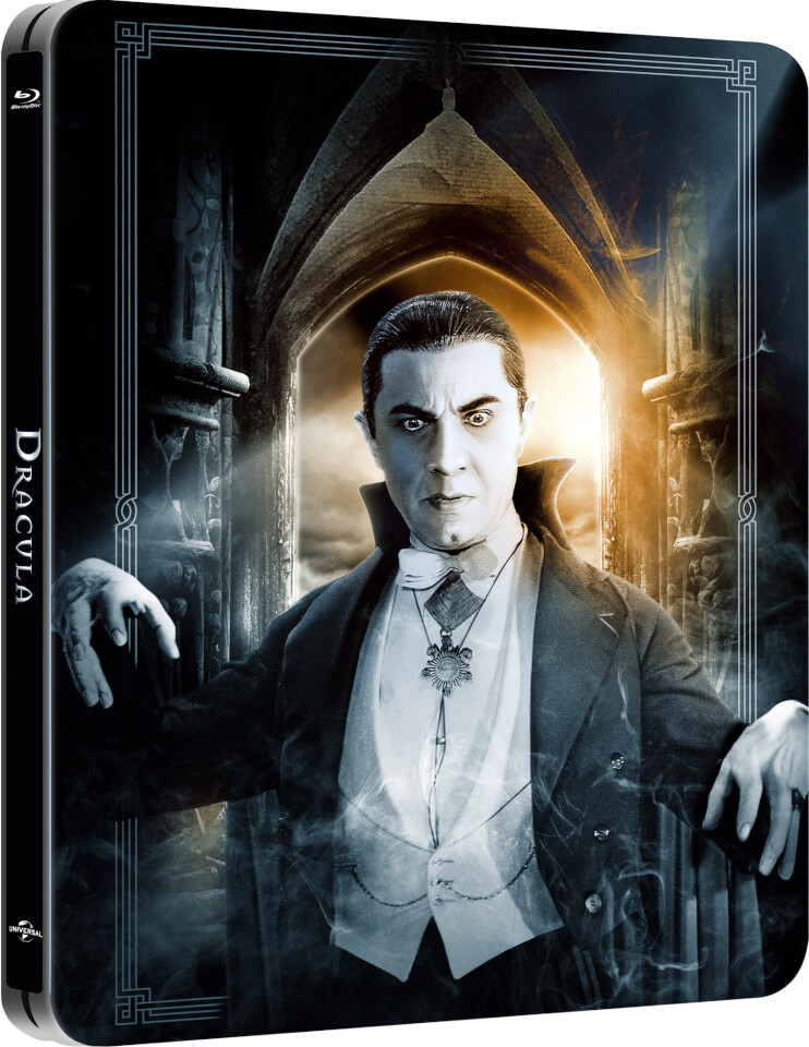 Dracula Limited Edition Steelbook Blu Ray Zavvi
