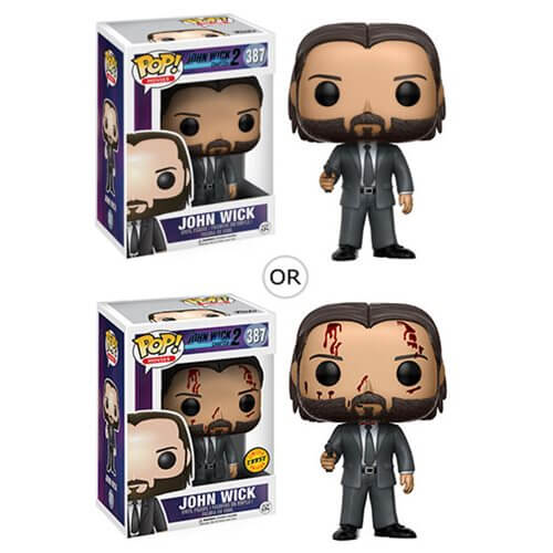John Wick Chapter 2 Pop Vinyl Figure Merchandise Zavvi