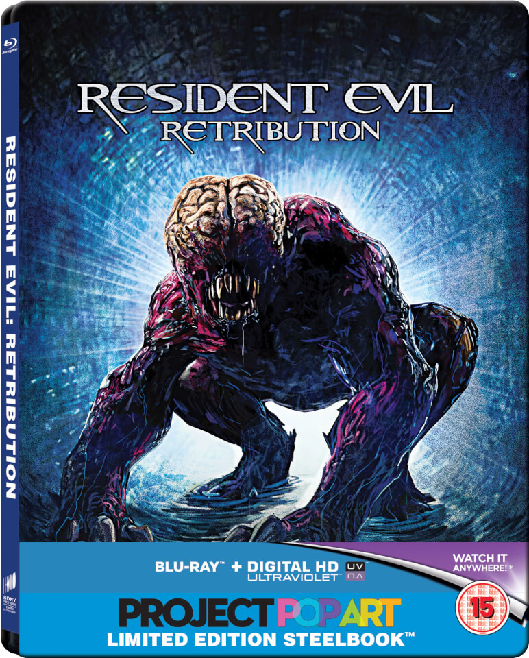 Resident Evil Retribution Zavvi Exclusive Limited