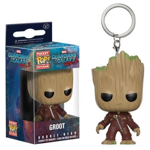 695396c5e2 Guardians of the Galaxy Vol. 2 Groot Pocket Pop! Key Chain
