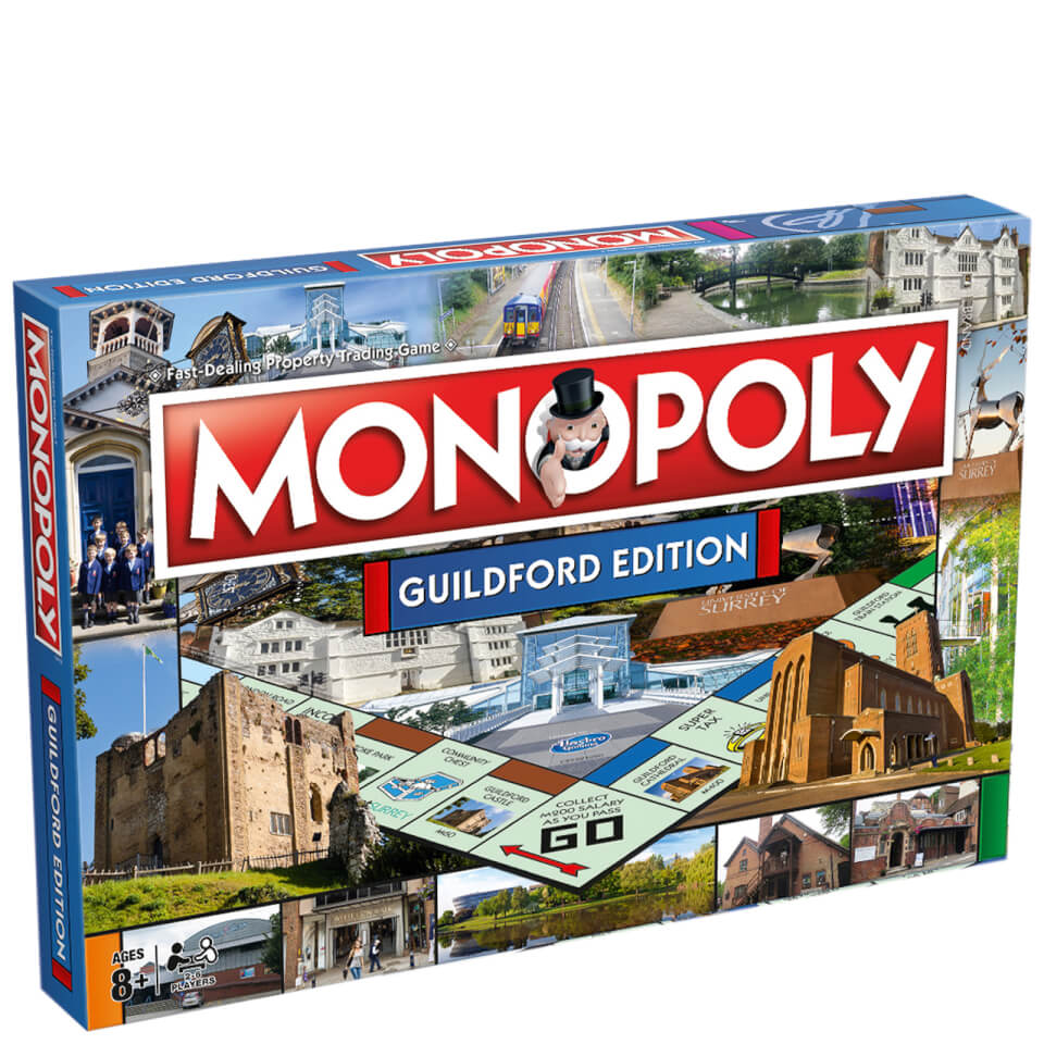 Monopoly - Guildford Edition Toys