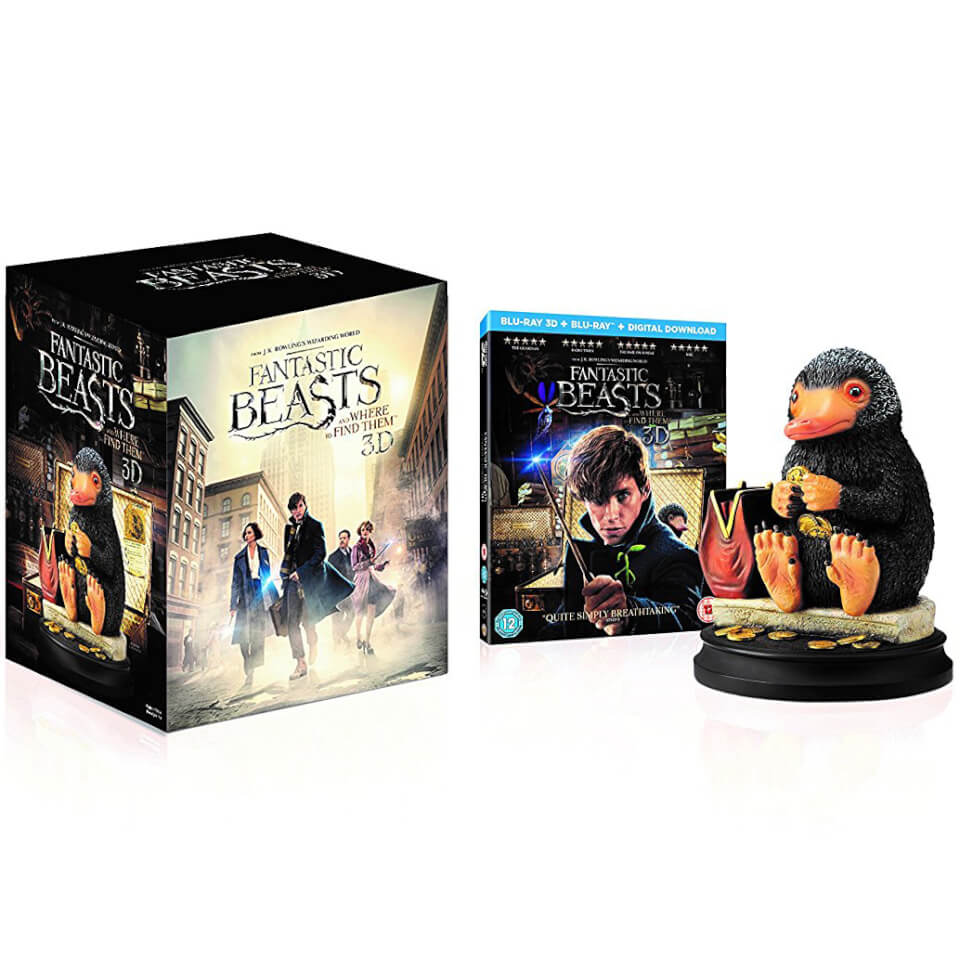Fantastic Beasts And Where To Find Them 3d Includes 2d