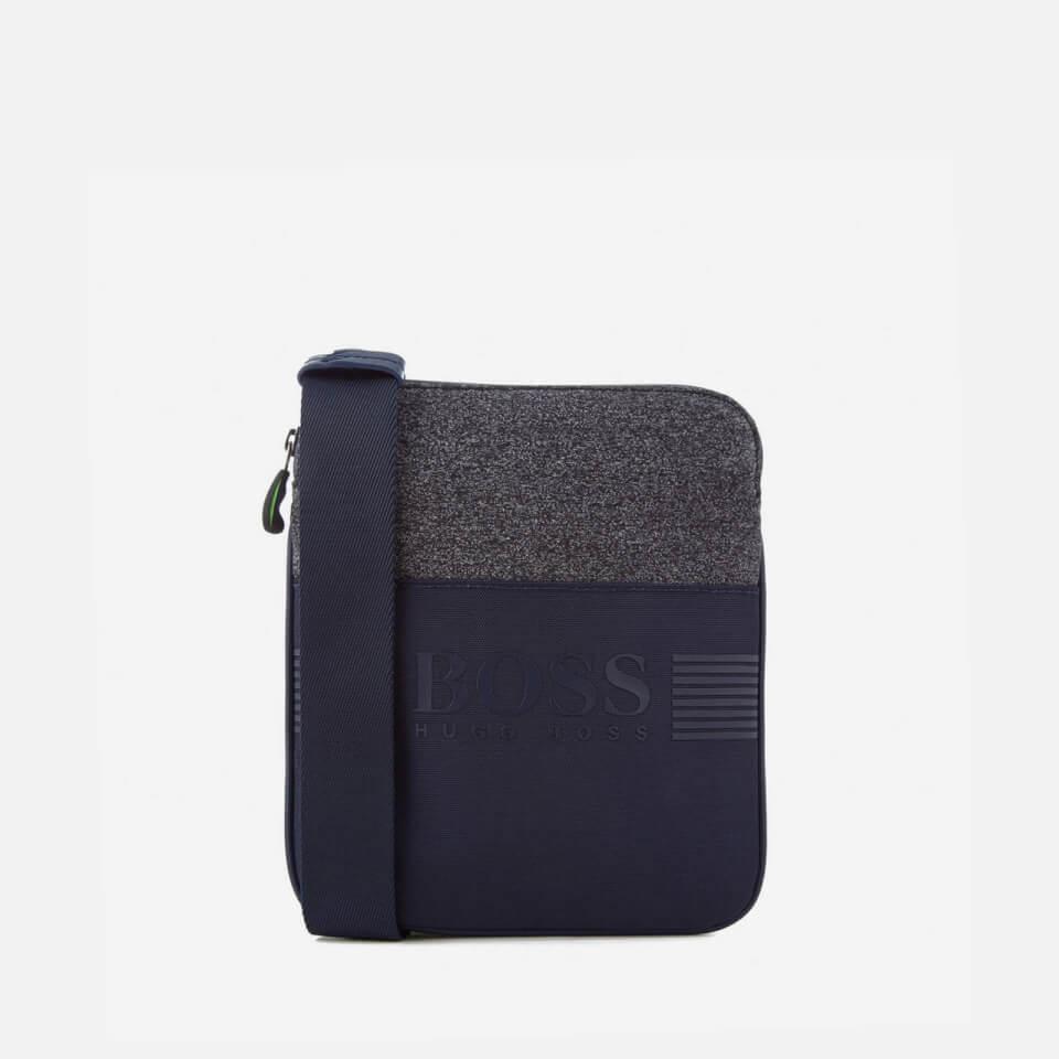 8387dbefbf BOSS Green Men's Pixel Messenger Bag - Navy