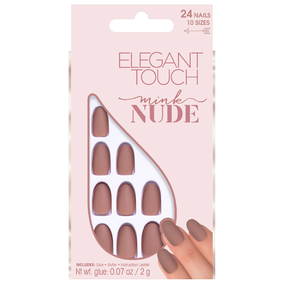 Elegant Touch Nude Collection Nails - Mink | Free US Shipping ...