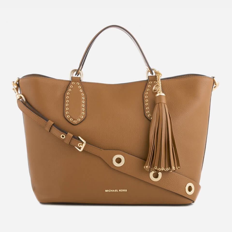 e79b66b28f43 MICHAEL MICHAEL KORS Women s Brooklyn Large Grab Bag - Luggage ...