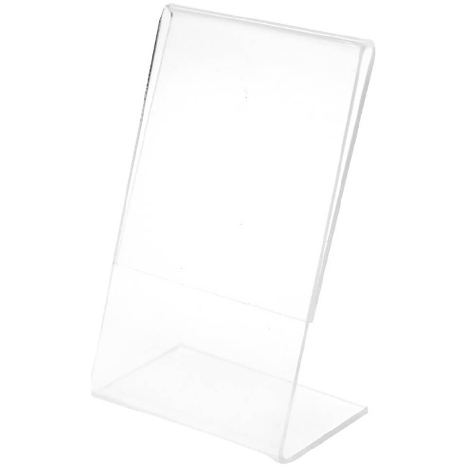 Polaroid Clear L Shaped Acrylic Frame For 2x3 Inch Filmpaper
