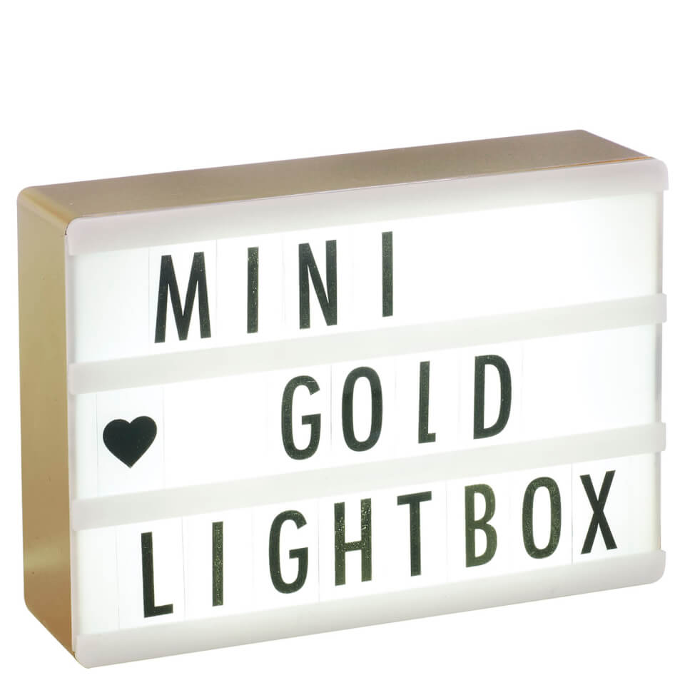 Gifts under 20 unique unusual ideas for less iwoot a6 cinematic lightbox rose gold negle Images