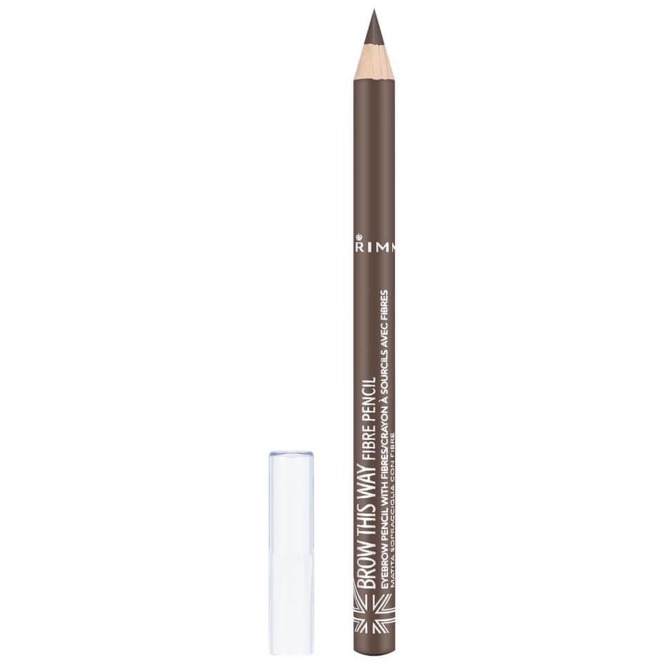 Rimmel Brow This Way Fibre Pencil 11g Various Shades Free