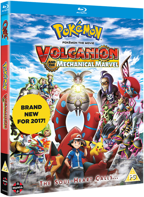 Pokemon The Movie Volcanion And The Mechanical Marvel Blu Ray Zavvi Us
