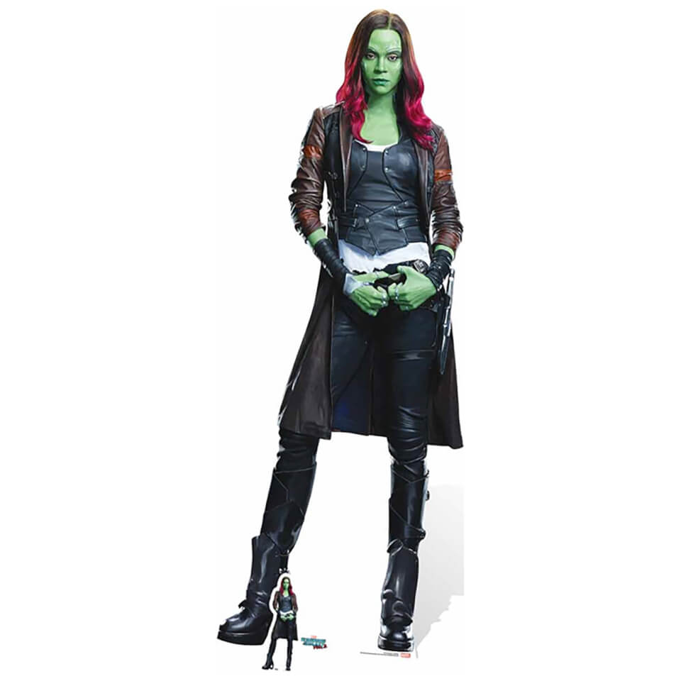 Guardians Of The Galaxy Volume 2 Gamora Cardboard Cut Out