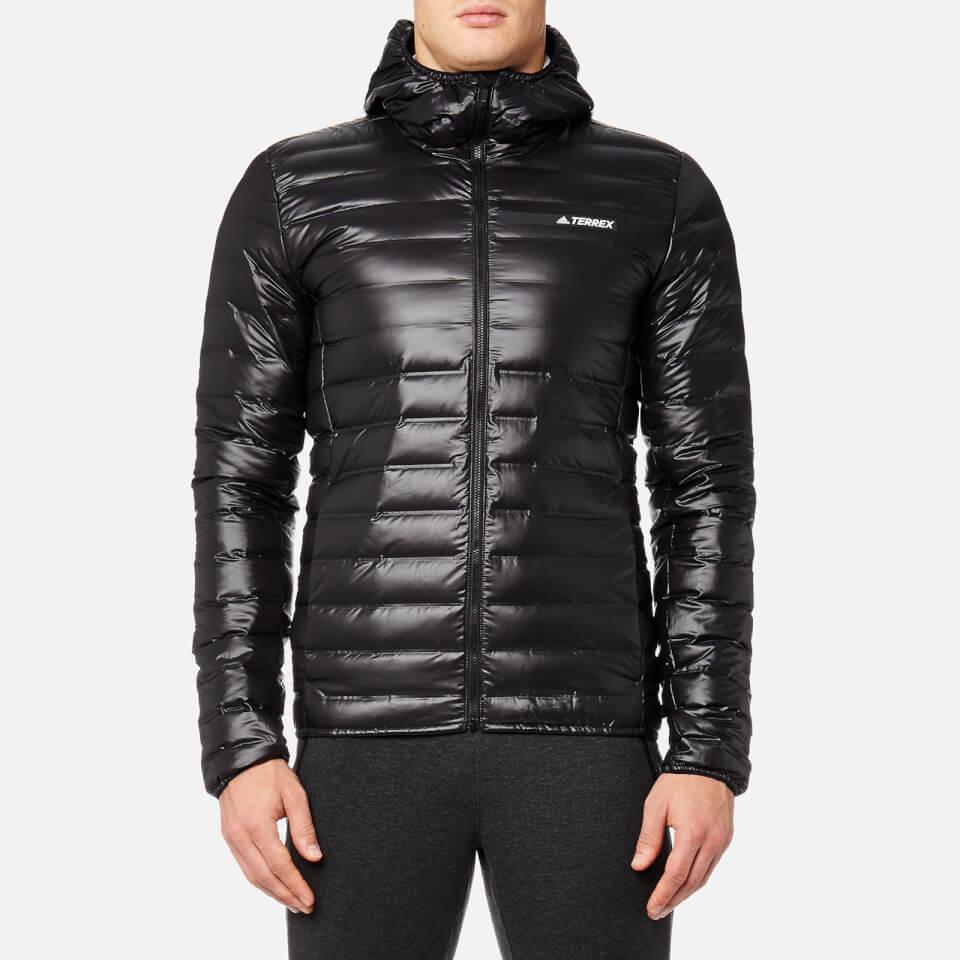 97f8df338 adidas Terrex Men's Light Down Hooded Jacket - Black