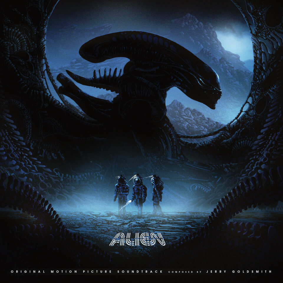 Alien 1979 Original Soundtrack 2lp Merchandise Zavvi