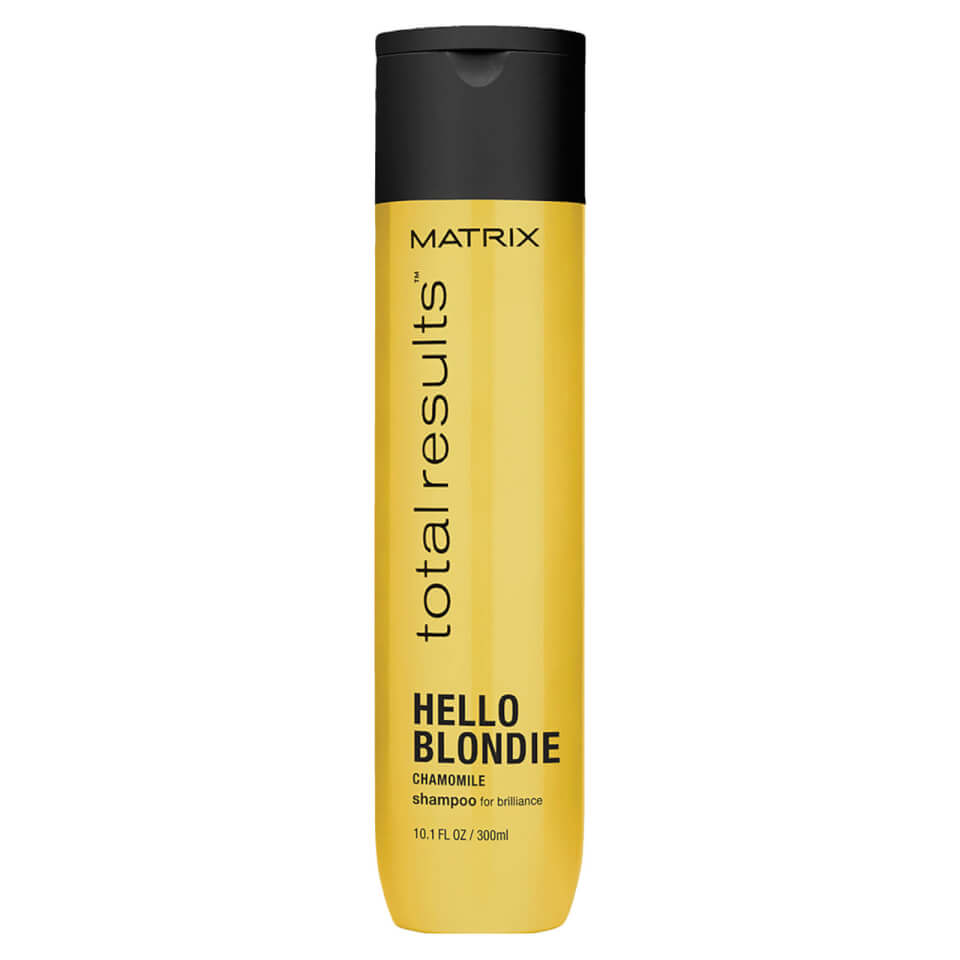 Matrix total results hello blondie shampoo 300ml buy for Active skin salon